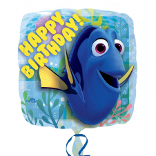 Finding Dory Happy Birthday Foil Helium Balloon
